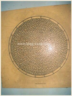 Rompecabezas troquel 60x60cm-600pcs diseño único