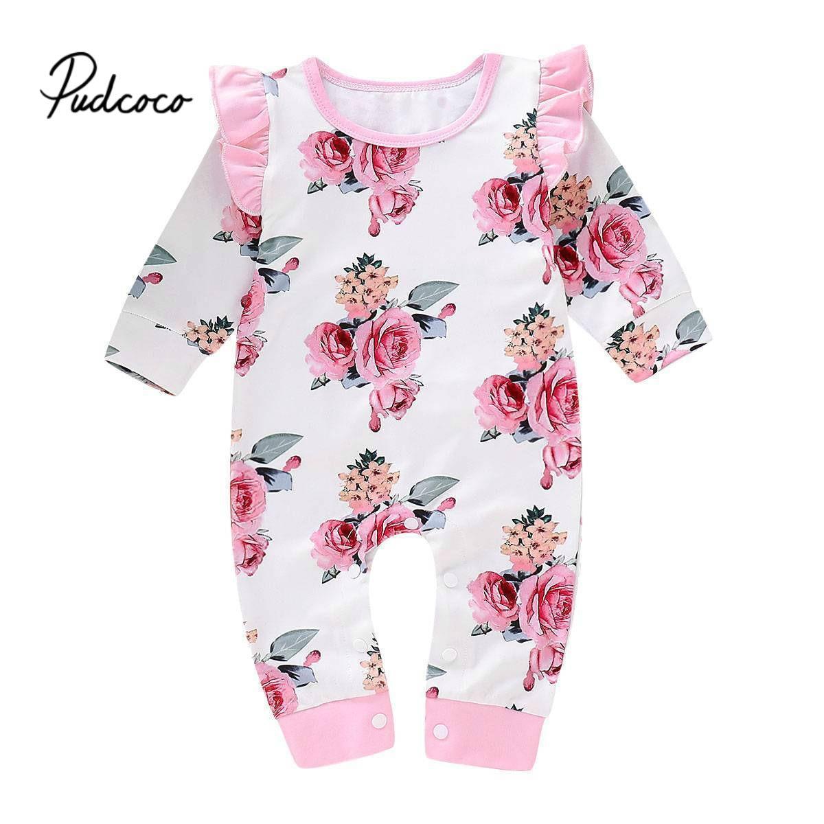 Mamelucos de invierno para niña, ropa de moda para primavera para recién nacidos para niñas, mono de manga larga para niños y niñas, conjuntos de Ropa para Niñas