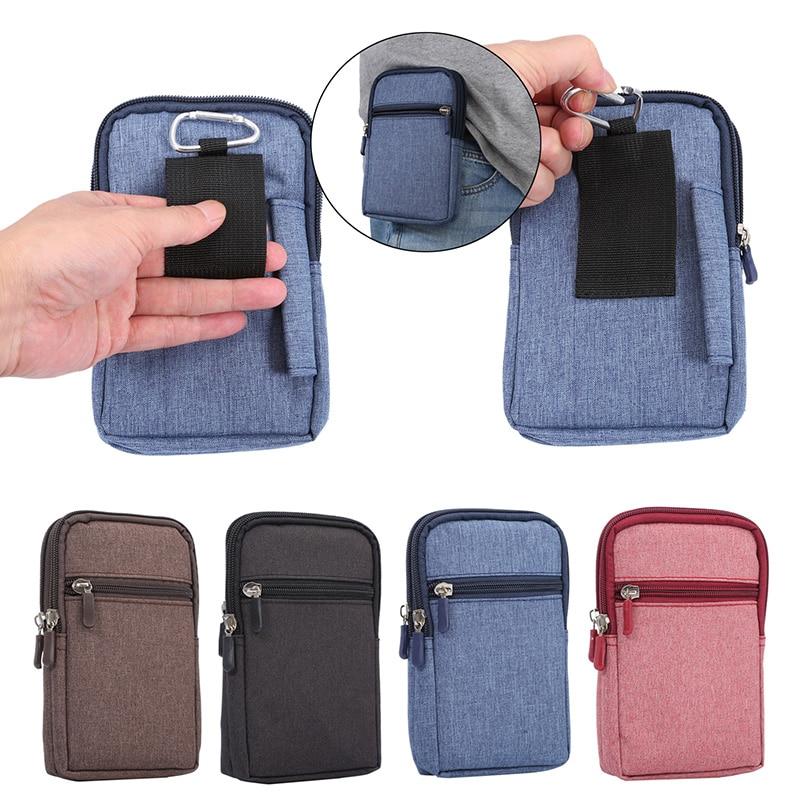 Bolso de cuero vaquero para teléfono móvil, funda con Clip para cinturón para Samsung Galaxy S20 Ultra S8 S9 S10 Plus S10e Note 8 9 10 Plus, funda de cintura