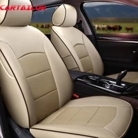 cartailor cowhide leather car seat cover for cadillac srx seat covers cars accessories automobiles seat cushion supports airbags