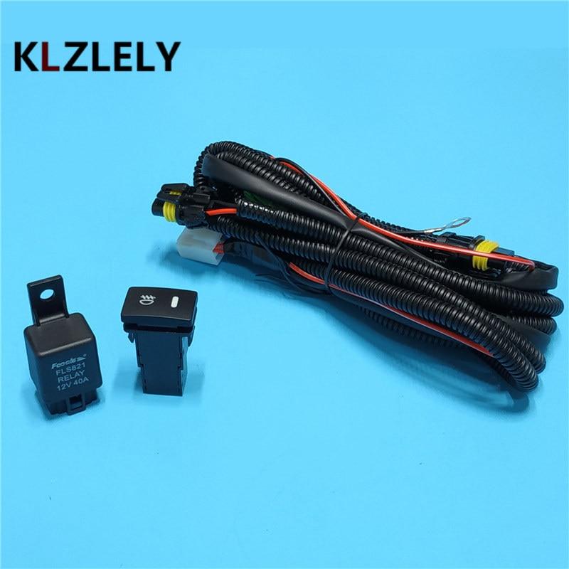 Arnés de cables Beler + interruptor para lámpara antiniebla H11 para NISSAN Navara D40 Note E11 Pathfinder R51 Pixo UA0