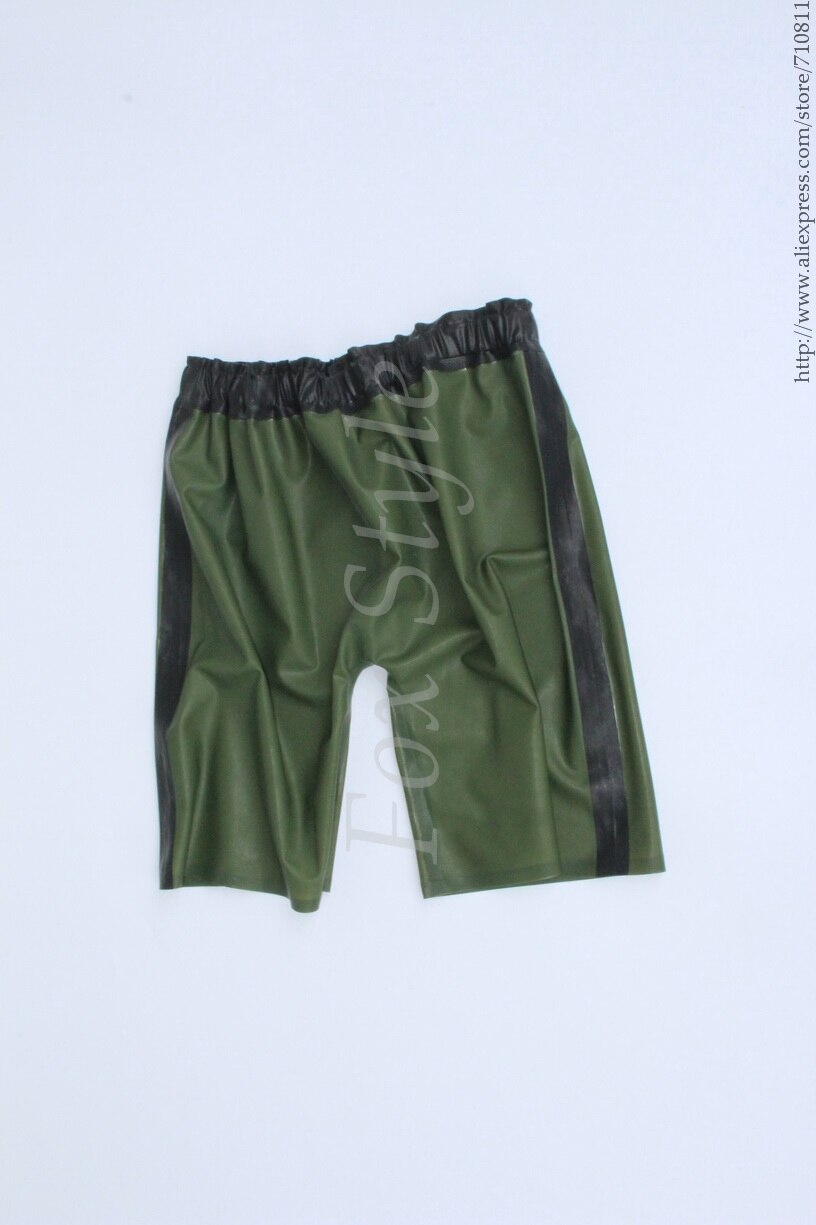 Men 's style rubber pants boxers