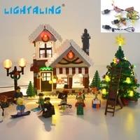 lightaling led light kit for 10249 expert winter toy shop compatible with 39015 no building blocks model