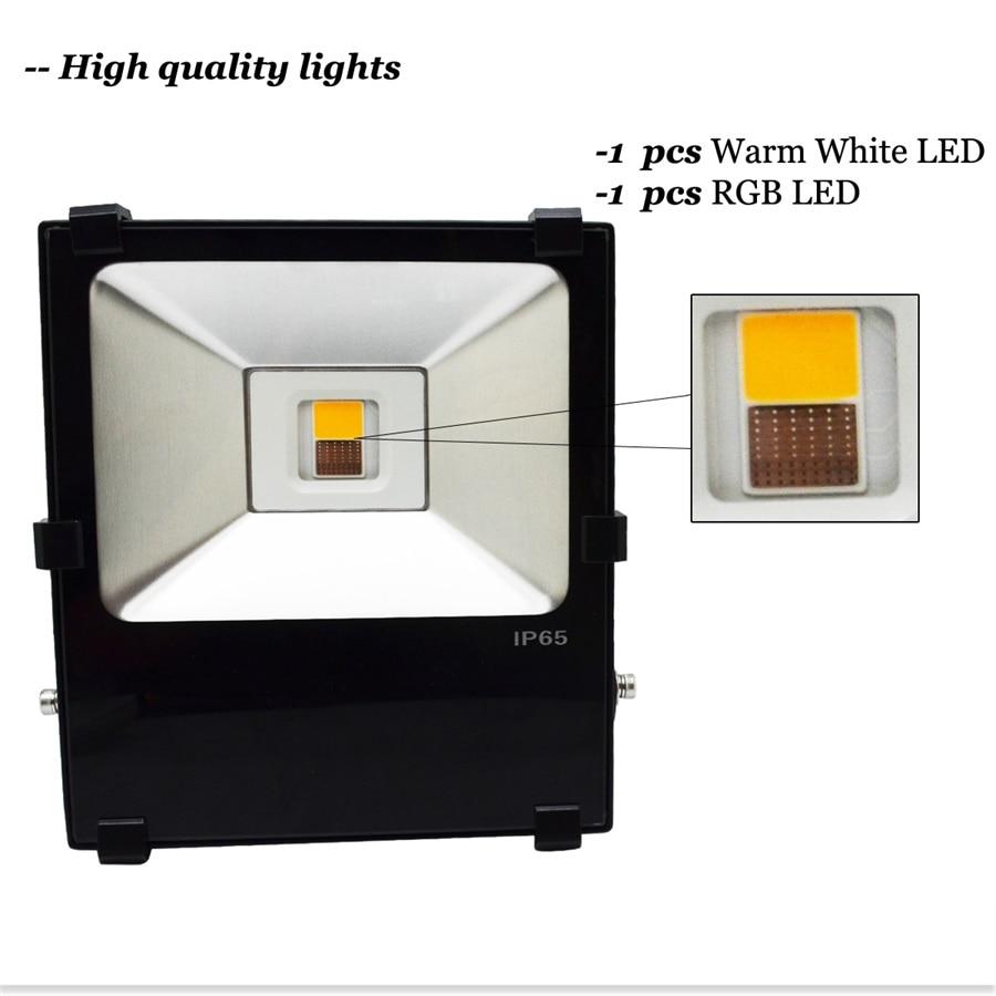 35 Вт milight светодиодные Прожекторы rgbww многоцветный Водонепроницаемый IP65