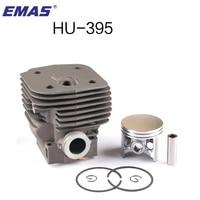 EMAS High quality 56MM BIG CYLINDER PISTON FOR HUSQVARNA CHAINSAW 395 395XP 395EPA ENGINE 503993971 TOP SALE IN USA UK