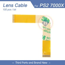 HOTHINK 100pcs/lot New 7000x Drive Laser Lens Pickup Ribbon Flex Cable Repair Parts For PS2 PlayStation 2