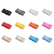 "10Pcs/lot,12 kinds-Color, Contoured Curved Side Quick Release Buckle for DIY Bag Buckle,for 3/4""inch(20mm) Strap/Umbrella"