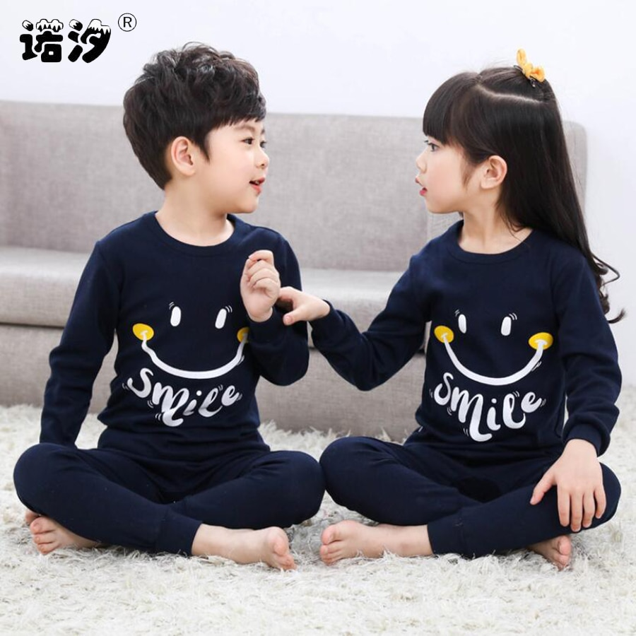 Kids Boys Sleepwear baby girl spring cotton sets Children Homewear Pajamas for Boy Pyjamas Kids Nigh