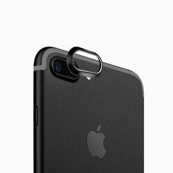 Liga de Alumínio Anel de Proteção Da Lente Da Câmera traseira Tampa Protetor Proteção Para iPhone7 7 além de Caixa De Metal De Luxo Móvel Accessori