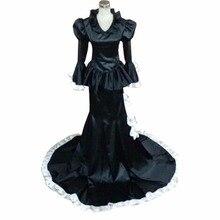 2018 Saint Seiya The Lost Canvas Pandora Luxury Cosplay Costume Halloween Black Uniform Outfit Custom-made