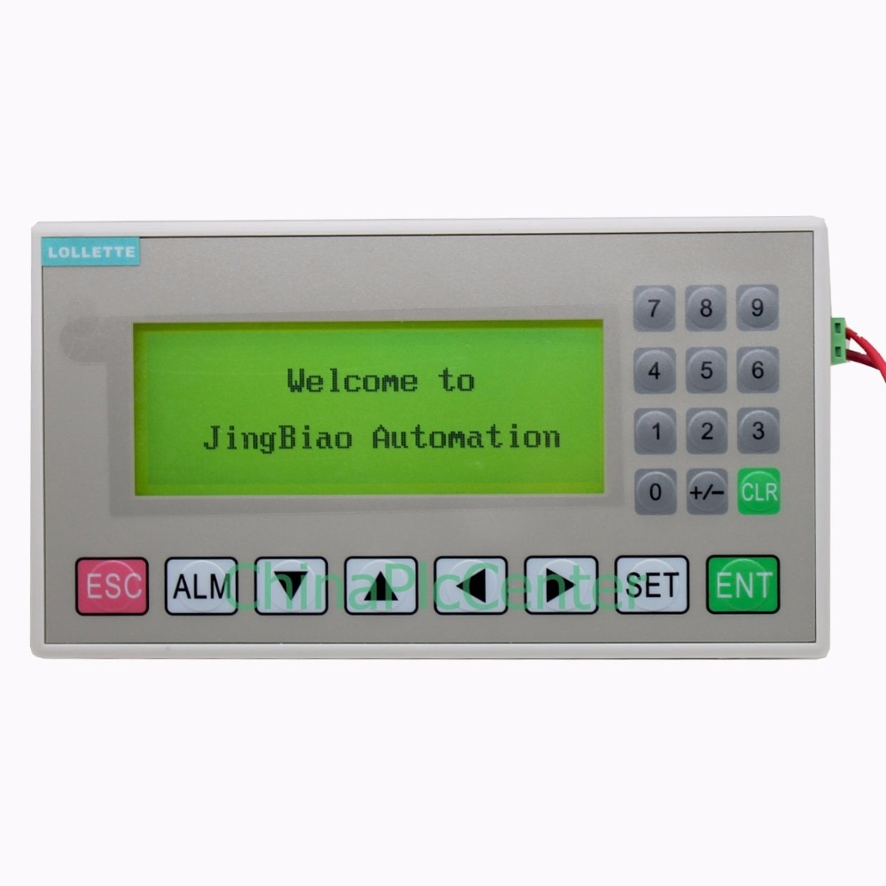 OP320-A V8.0Q MD204L Pantalla de texto de 4,3 pulgadas HMI soporte 232 485 puertos de comunicación nueva oferta OP320-A-S