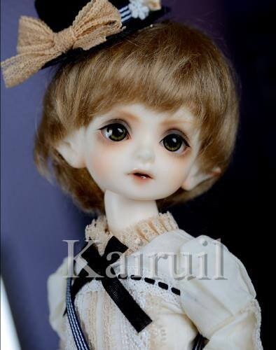 Bjd 1/6 muñeca Bola de montaña BOLA DE FLORES con bisagras