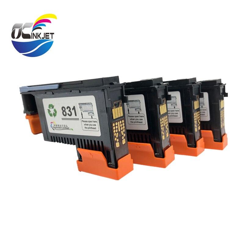 HP831 4 個プリントヘッドラテックス 310 330 360 CZ677A CZ678A CZ679A ため CZ680A 831 プリンタヘッド