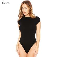 9 couleur 2020 femmes décontracté été à manches courtes chemise Body hauts dames justaucorps haut t-shirt une pièce Body tenue XXL