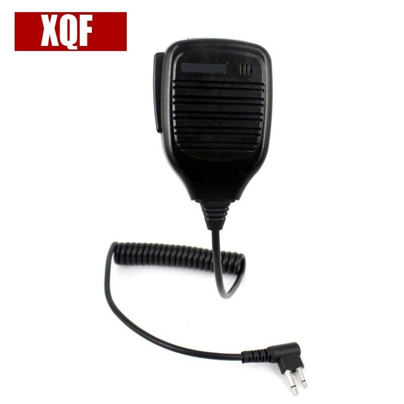XQF 2pins Speaker mic for motorola EP450,CP040 GP88S,GP88,GP3188,GP2000S,MAG ONE A8 etc. walkie talkie