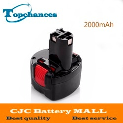 Высокое качество BAT048 9,6 V 2000mAh перезаряжаемые Powr инструменты батареи для Bosch PSR 960 2 607 335 272 32609-RT Ni-CD Бесплатная доставка