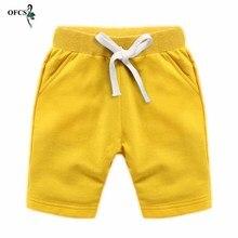 Nouveau détail coloré 10 couleurs enfants pantalons enfants pantalons pour bébé garçons et fille été plage coton lâche Shorts taille 80-150