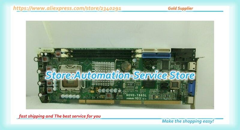 OVO-7865L V2.0 الصناعية مجلس 865 رقاقة 775 مجلس بطاقة اختبار جيدة