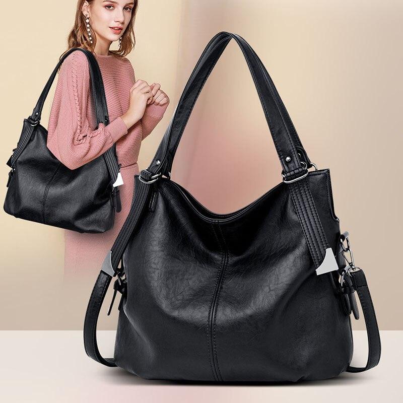 2020 Hot Luxury Handbag Women Bags High Quality Leather Crossbody Bags Ladies Tote Large Capacity Female Shoulder Bag Sac A Main