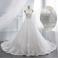 2019 ligne a robe de mariée de luxe mariage grandi sexy col en v mariage Appliques cultivées vestido de noiva personnaliser fabriqué en chine