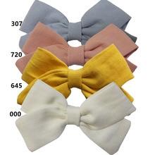 Barrettes à nœuds en tissu 4 pièces   Pinces à cheveux, Barrettes pour cheveux Boutique pinces à cheveux en tissu, accessoires pour cheveux pour bébés filles