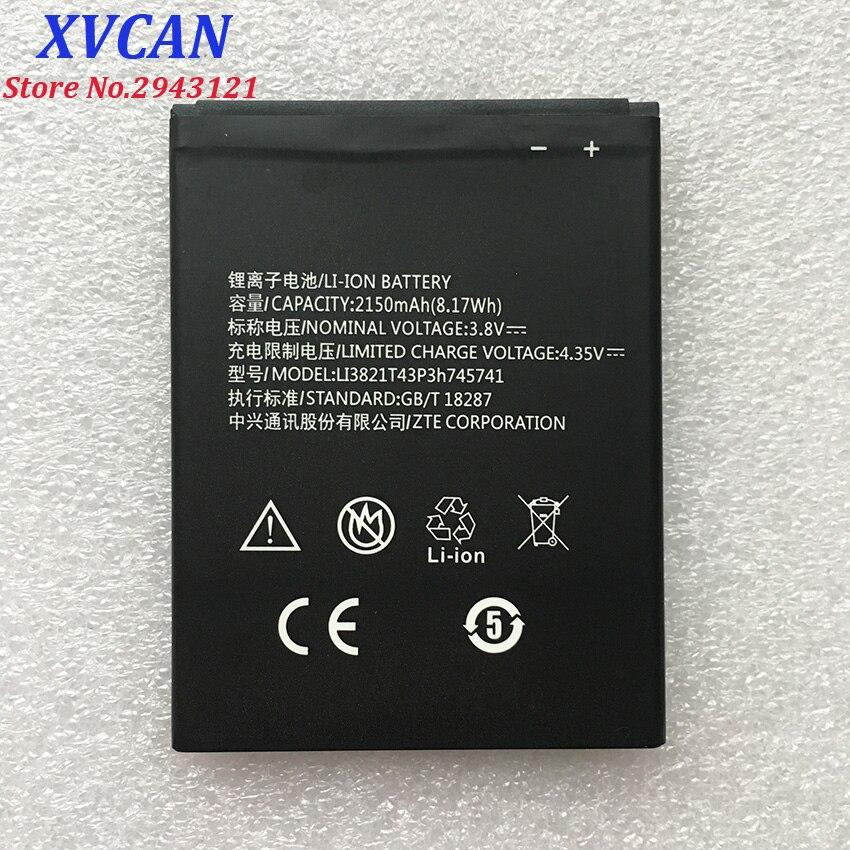High Quality Li3821T43P3h745741 2150mAH Original Phone Battery For ZTE Blade L5 L 5 PLUS C370 Mobile
