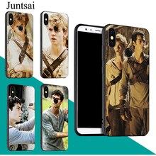 Juntsai The Maze Runner Case For Xiaomi Redmi Note 9 7 8 Pro K30 9S 8T 7A 8A Mi 9T A3 9 SE 10 Lite Max3 Mix3