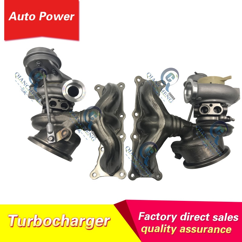 High quality turbo TD03L4-10TK3-4.9 49131-07258 49131-07258 turbocharger For BMW X7 F01 F02 F03 F04 740i  Engine N54 B30 3.0T