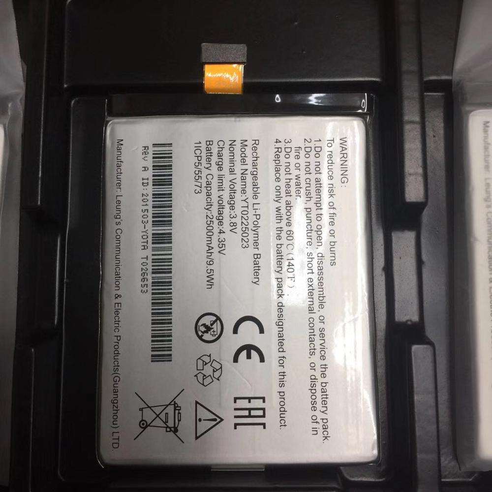 Se Original 2500mAh batería pila batería para YOTA YotaPhone 2 YD206 Qualcomm Snapdragon 800 FHD 1920x1080