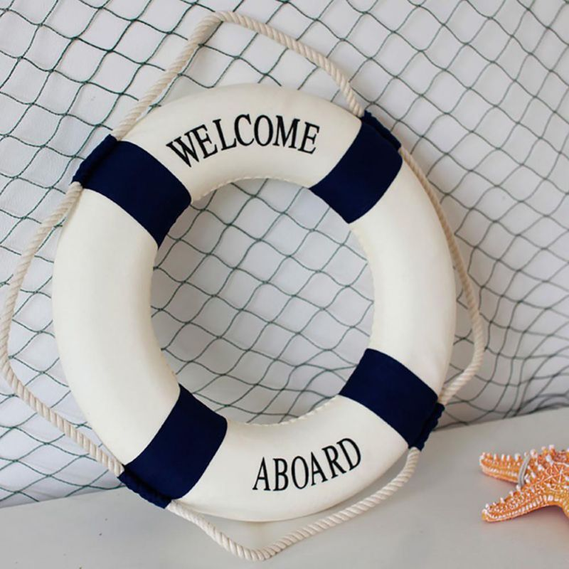Foam Home Decor Nautical Decorative Lifebuoy Life Ring Wall Hanging Decorative Ring Room Bar Home Decoration New