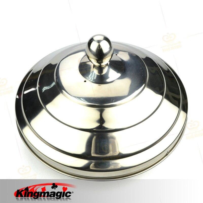 Dove Pan (Double Load) 20.5x16cm King Magic Props Fuuny Magician Funny Toys Magia Tricks