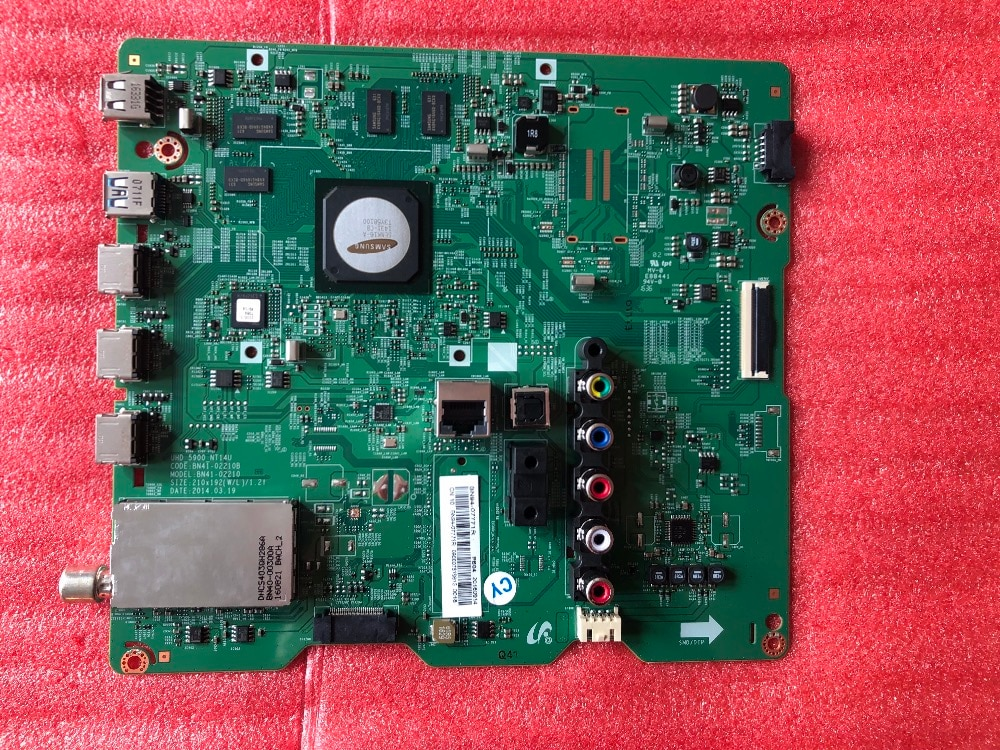 Nouveau original pour Samsung UA40HU5900J carte mère BN41-02210B BN91-13216A écran CY-GH040HGLV6H BN41-02210