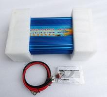 Pure Sine Wave Inverter 2500W Solar Power Inverter 24V to 220V Power Supply Transformer 12V/36V/48V DC to 110V/120V/230V/240V AC