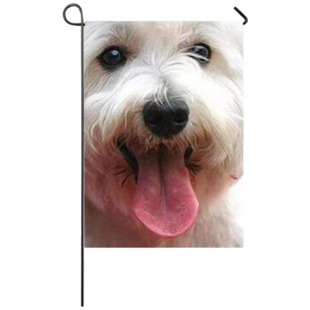 Yorkie-drapeau de jardin pour chien   Drapeaux de saison, décoration résistante aux intempéries, drapeaux de jardin, décorations de maison fête
