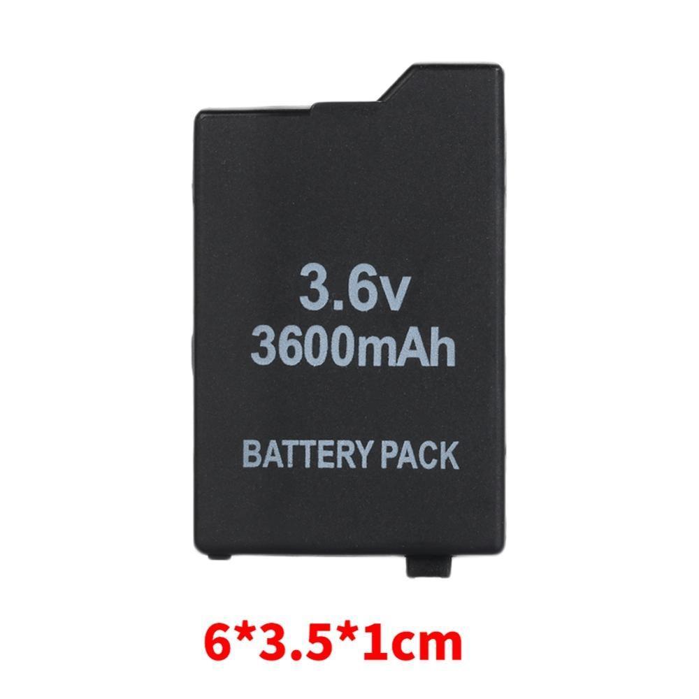Replacment Battery For Sony PSP 2000 3000 3600mAh 3.6V Li-ion Rechargeable Battery Pack PSP-S110 For Sony PSP 2000 3000
