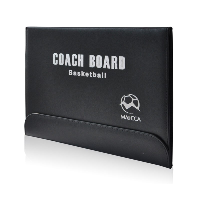 MAICCA Folding Basketball Coaching Board Magnetic Coach board Tactical plate tactics book set with Pen Teaching Clipboard недорого