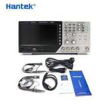 Hantek DSO4102C multímetro Digital Osciloscopio USB 100MHz ancho de banda 2 canales portátil analizador lógico Portatil Osciloscopio