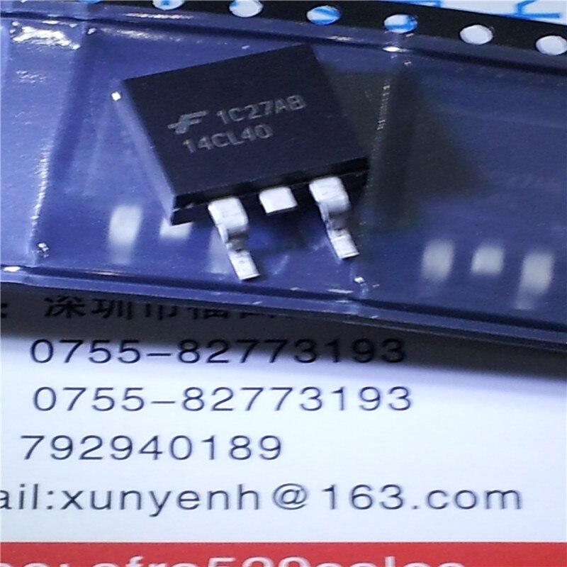 20 шт./лот Автомобильная трубка зажигания 14CL40 IGBT 400V 14A 330MJ 262W DPAK TO263 компьютерная