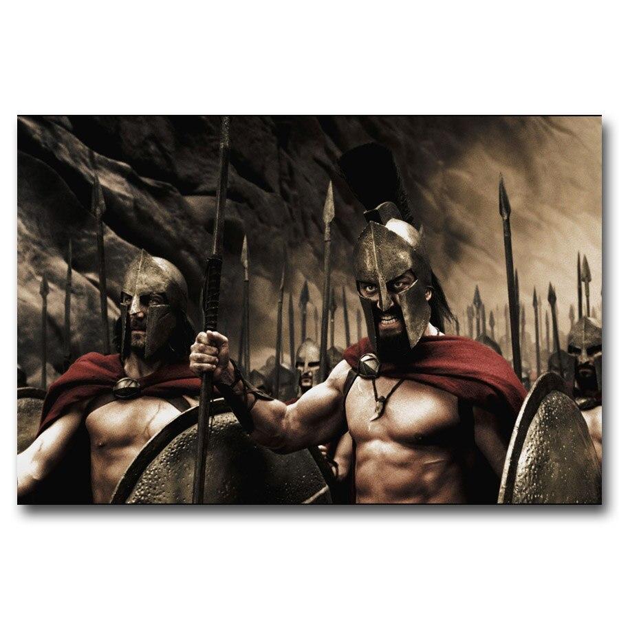 Pared vintage arte 300 guerreros espartanos película carteles impresiones en lienzo 16X24/20X30/24x36 pulgadas