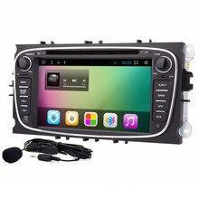 Lecteur DVD de voiture Android 8.01 à 2 din   Pour Ford Galaxy II Kuga Mondeo Focus II, avec GPS à sortie RCA WIFI OBD2
