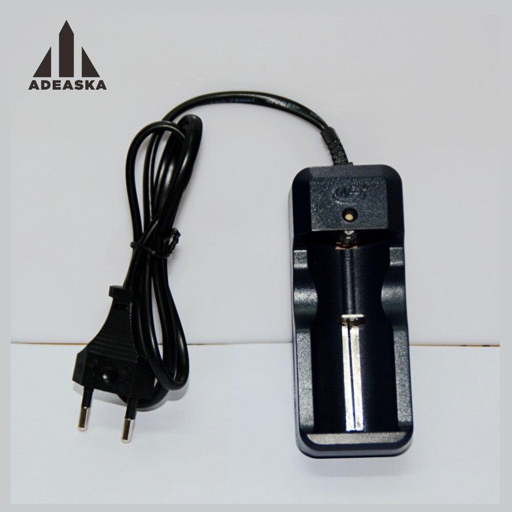 10 stks/set HG-105LIX Universele Li EUA UE Carregador Único Slot DC 4.2 V De Lítio Voor 26650/18650 Oplaadbare batterij