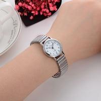 2020 New Hot Lvpai  Women Small Bangle Bracelet Stainless Steel Quartz Wrist Watch Couple Watch Casual Women Dress Colck A