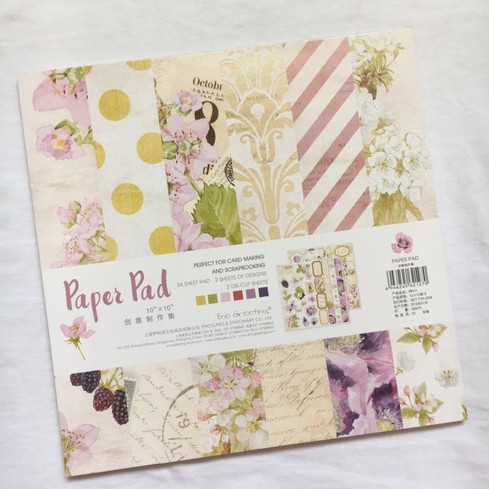 10inch elegant violet Purple scrapbook paper Origami Background Pape DIY flower border deco tag card making happy planner craft