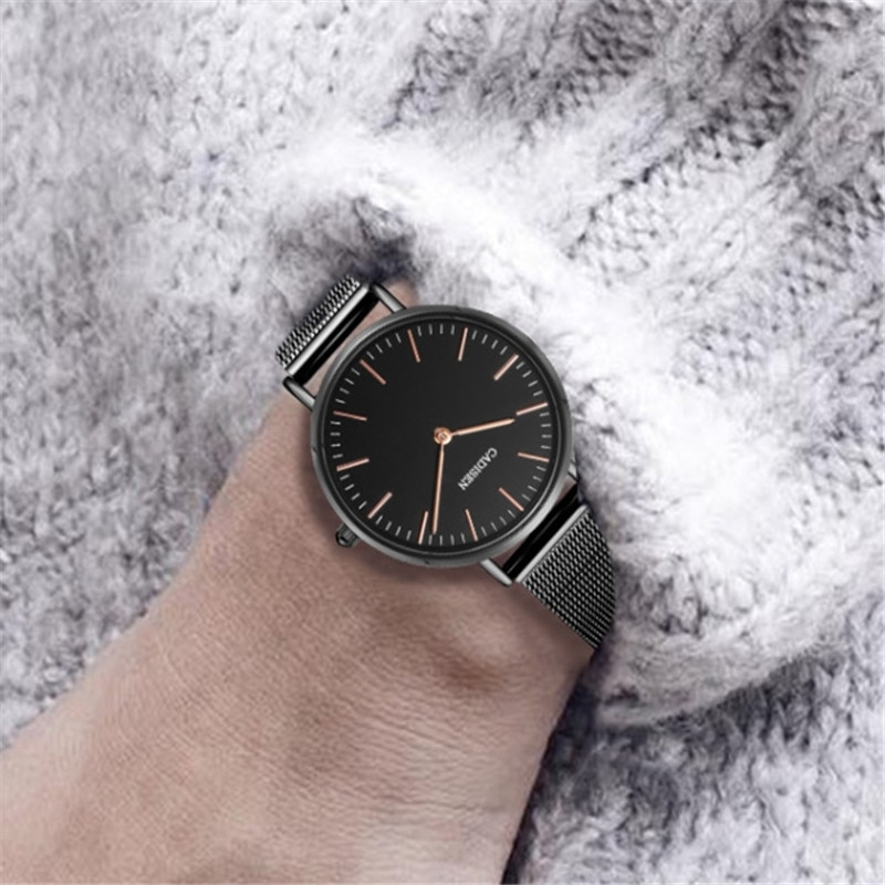 NEW CADISEN Luxury Watch Fashion Women Watches Quartz Watch Waterproof Ladies Casual Dress Wristwatch montre femme dropshipping enlarge