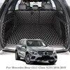 Tapis de coffre de voiture   Tapis de coffre de voiture pour mercedes-benz GLC-Class X253 2016-2019 doublure de coffre arrière tapis de sol de cargaison protecteur de plateau accessoires internes