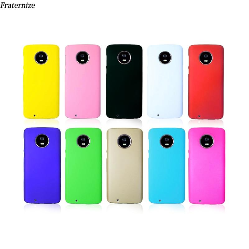 Telefon fall für Motorola Moto G6 G5 G5S E4 E5 C Z2 Plus Matte Haut Harte Rückseitige Abdeckung Für Moto z2 Z3 G4 X Spielen X4 G2 G3 X3 M E G X + 1