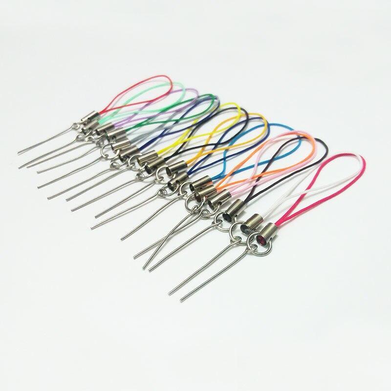 Фото Цветные шнуры шнурок веревка ремешок брелки крючки булавки для глаз булавка
