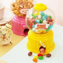 Yaratıcı sevimli şeker makinesi çikolata kumbara ATM para kutusu tasarrufu bozuk para kutusu para kutusu oyuncak ev dekoratif çocuklar hediye