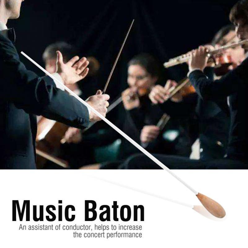 38 см музыкальный дирижер, настраиваемый ритм-диапазон, музыкальный дирижер, дирижер оркестра, командный дирижер, груша, деревянная ручка