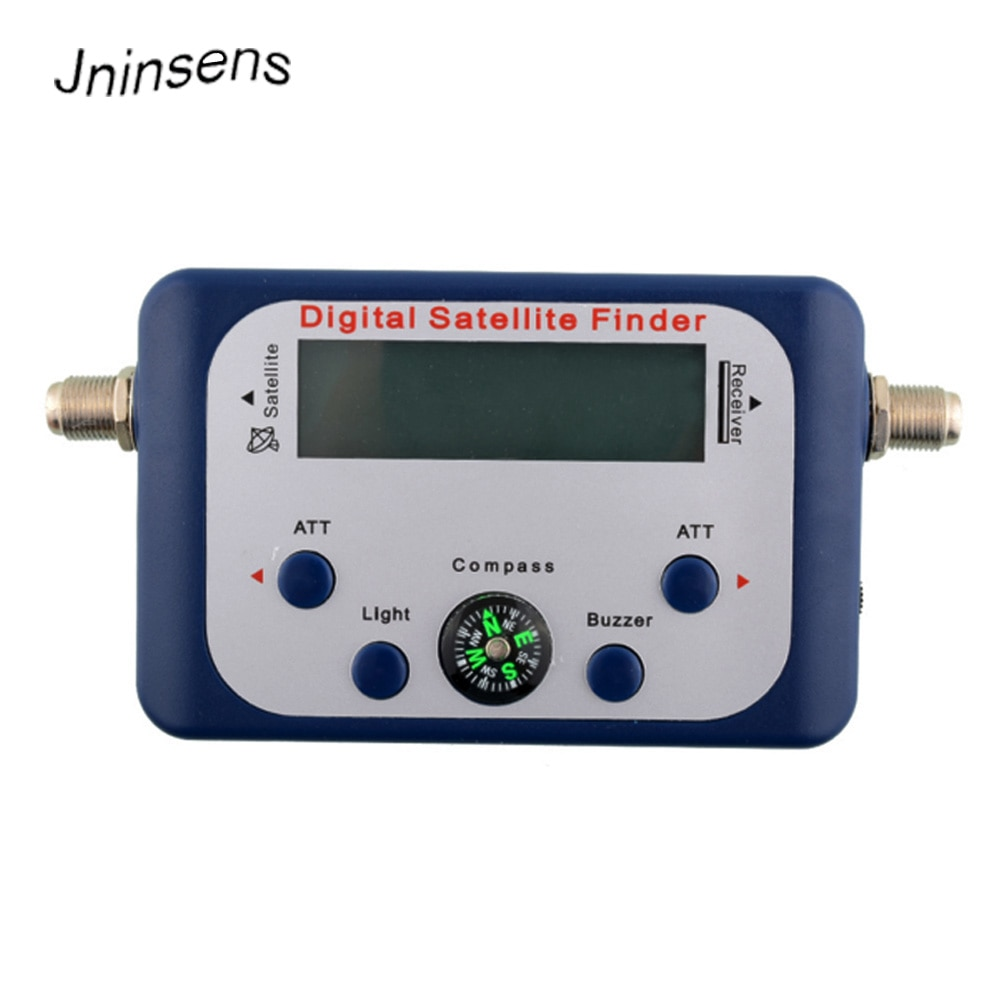 New!! Portable Mini Digital LCD Display Satellite TV Signal Finder Satfinder Signal Tester Strength Meter Sky Dish Freesat